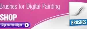 8 Useful Brushes for Digital Painting by pixelstains