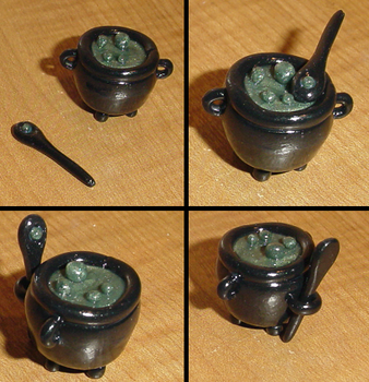 The Half-Blood Prince's Cauldron by HideTheDecay