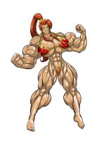 Pumped-Up Teela by too22202