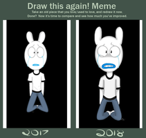 Draw this again! Meme by KuffinsUniverse
