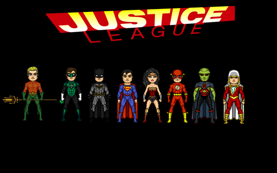 Justice League by Jalil1m
