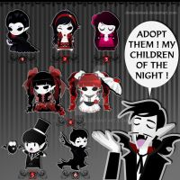 ~ Adopt a Vampire ~ by DoubleDead