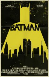 Batman movie poster by markwelser