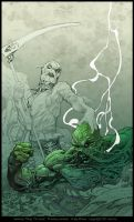 Swamp Thing 19 Cover : Preview by andybrase