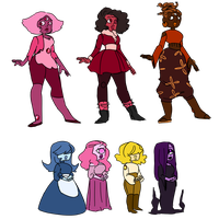 [Adopts] Garnet and Sapphire Adopts(CLOSED) by Plantmatsu