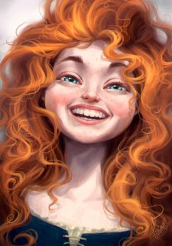 Merida by bewareitbites