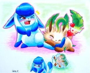 Glaceon Is Not Amused by Cadaska