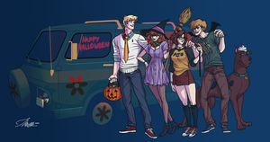 Scooby Halloween by Zerohope2survive