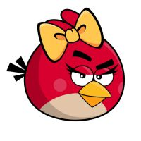 Angry Bird - Girl by life-as-a-coder