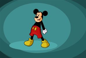 Mickey Mouse. by chip14