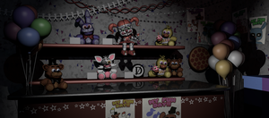 Ultimate Custom Night - CAM 07 by yoshipower879