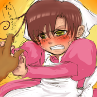 APH:Harrassing ChibiRomano by slouph