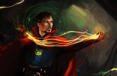 Doctor Strange by Josephine-frays