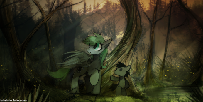 The Marshlands by FoxInShadow