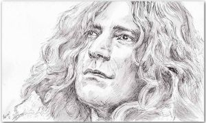 Robert Plant (#04) by MarinaSotiriou