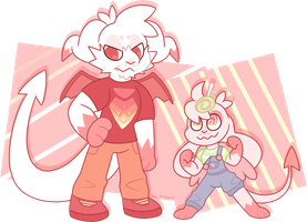 Boom And Twitchy by Pupom