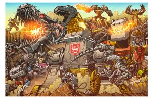 All Hail Grimlock - Botcon 2014 print