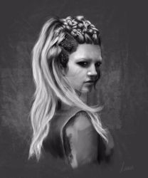 Lagertha by Lunnaen