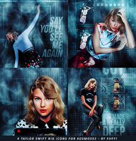 Taylor Swift icons by Evey-V