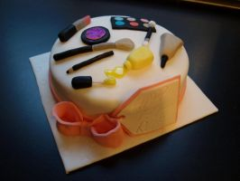 Makeup Cake by sparks1992