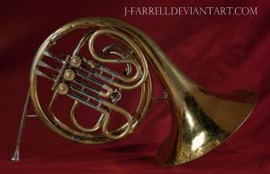 French Horn Stock by J-Farrell