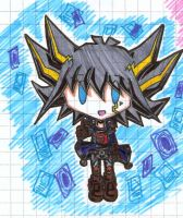 Good for you -Chibi Yusei- by XxSaorixX
