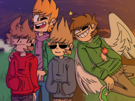 Eddsworld!! by domiinos