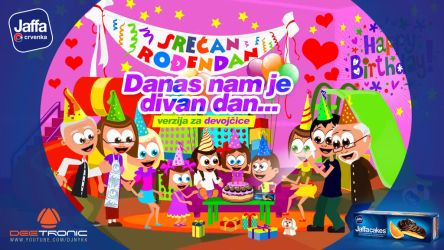 Srecan Rodjendan DEVOJCICE Happy Birthday 4 GIRLS by djnick2k