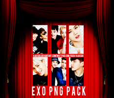 EXO PNG Pack (Kolon Sport - InStyle - June Issue) by kaixsoo