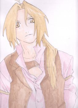 Edward Elric by Famara