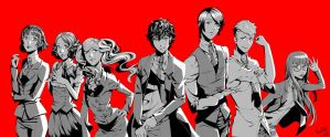 Persona 5 - Suit Series by Kimi-Note