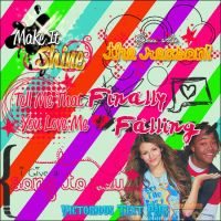 Victorious 5 PNG Text by DivasWorld