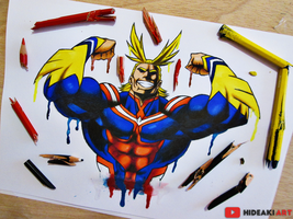 All Might || Boku no Hero Academia by HideakiArtReal