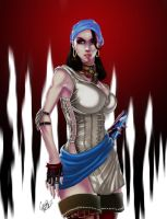 Dragon Age 2: Isabela Color by Chouaart