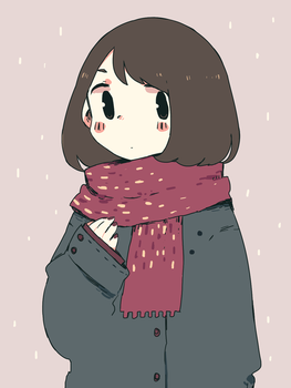 Scarf by soyatu