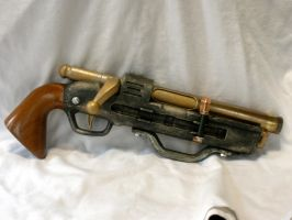 Steam Punk NERF/BuzzBee Sky Pirate Pistol by MarcWF