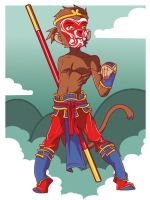 Monkey King 002 by I-Like-It-Juicy