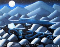 beneath the sea in outer space by skoffler