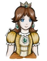 Princess Daisy by Aselea