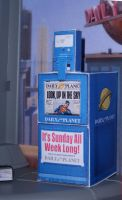 Daily Planet Paper Rack by MisterBill82