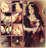 Trinity Blood Cosplay: Jane's Adornments by alberti