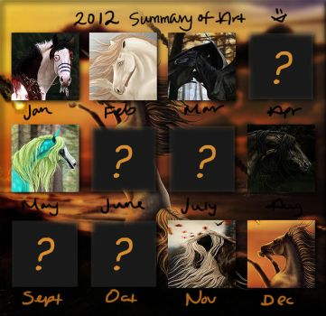 2012 art summary by themarchcat