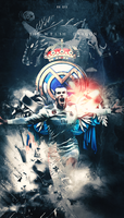 Gareth Bale | The Welsh Dragon | 2018 by RHGFX2