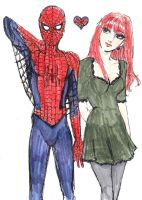 When a Spiderman Loves a Woman by Gabzies