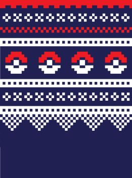Norwegian sweater pokeball edition by BuiltToFail