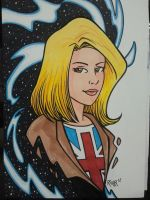 NYCC Commission - Doctor Who: Rose Tyler by RichBernatovech