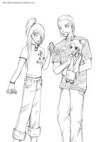 Family_4lostrunaway -wip- by LittleLadyPunk