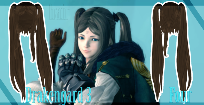Drakengard 3 - Four hair - [DOWNLOAD][DL] by Milionna