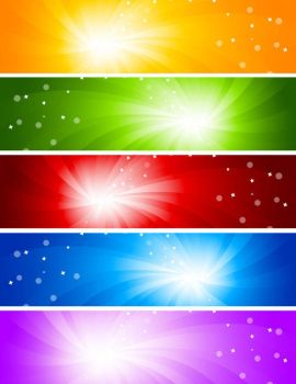 glare banner background vector graphics by vectorbackgrounds