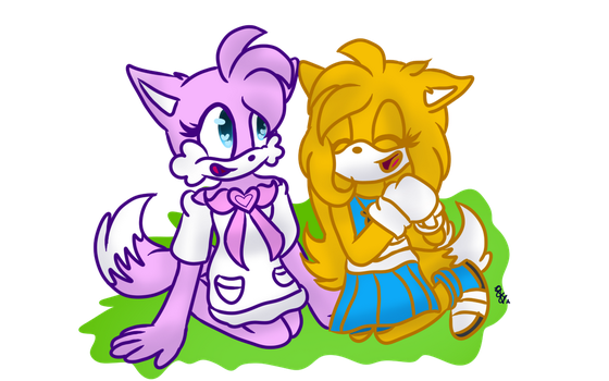 Girl Talk .:Gifty:. by MelTheArtist